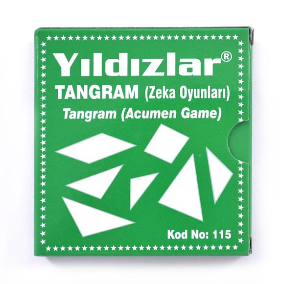 Yıldızlar Tangram Zeka Oyunu 115