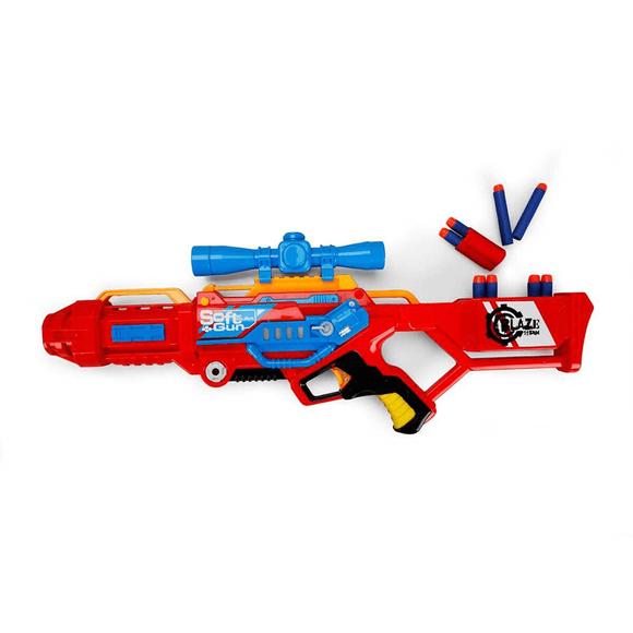 Zapp Toys 7068 Silah Sünger Atan 3'Lü Atış