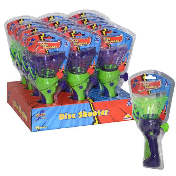 Zapp Toys Çek Fırlat Disk Yeşil Saplı S02002135