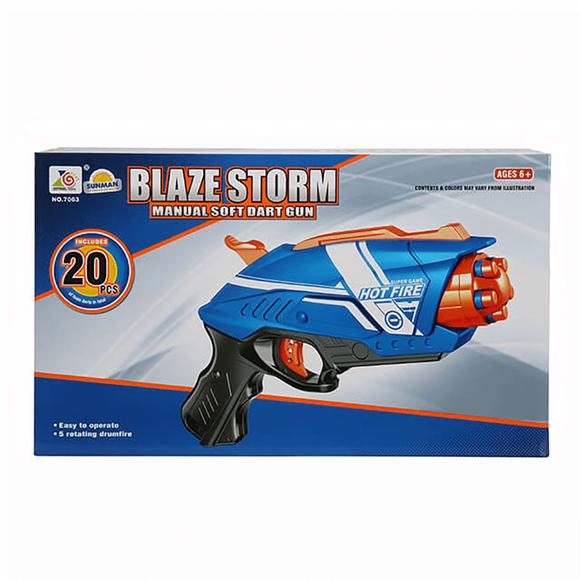 Zapp Toys Silah Döner Başlıklı 20 Mermili