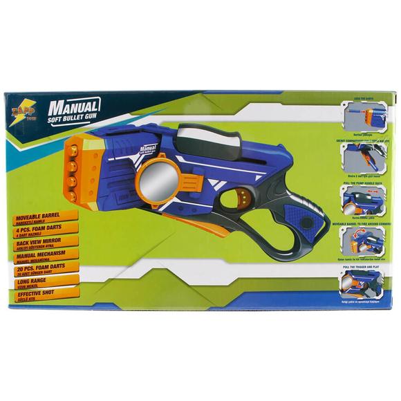 Zapp Toys Sünger Atan Aynalı Silah 20 Mermili S00007086