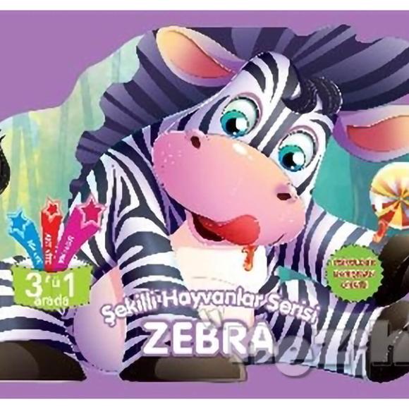 Zebra - Şekilli Hayvanlar Serisi
